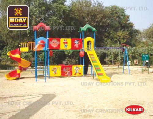 Children Outdoor Multiplay Station