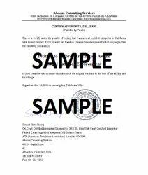 Certificates Translation Services