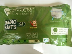 Toddlers Soft Baby Diapers Pack Of 42 Large
