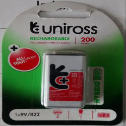 Uniross Rechargeable 9v 200