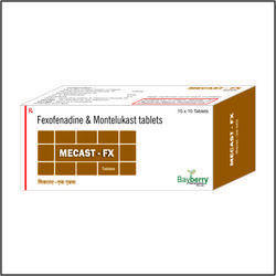 Fexofenadine Hydrochloride 120mg Montelukast 10mg