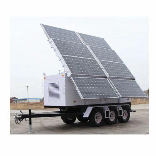 Solar Portable Mobile Lighting Tower