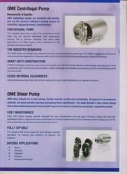 S.S.Centrifugal Pumps & S.S.Shear Pumps