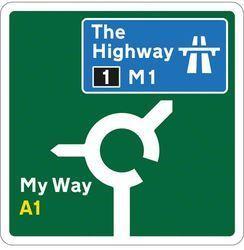 Route Marking Signage
