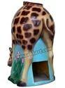 FRP Giraffe Trashbin- Weather Proof