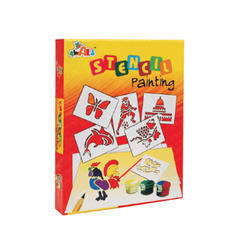 Stencil Painting Board Games