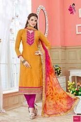 Designer Chanderi Suits