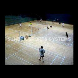 Badminton Court Wooden Flooring