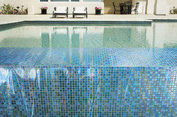 Pool Glass Mosaic Tiles
