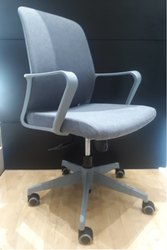 Office Workstation/Visitor/Staff/Conference Fabric Mesh Revolving Chair MY 203 - 3