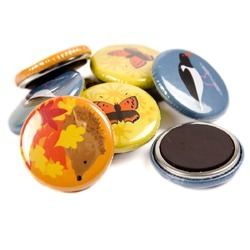 Customized Magnetic Button Badges