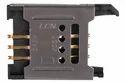 6 Pin Hinge Type Sim Card Holder