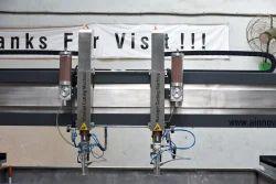 Multi Cutting Head Water Jet Cutting Machine