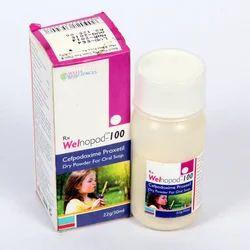 Cefpodoxime 100 Mg Dry Syrup