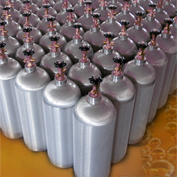 Co2 Aluminium Cylinders For Beverages
