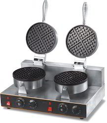 Commercial Double Waffle Machine