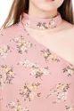 Fancy Floral Choker Duo Dress
