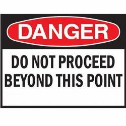 Danger Signages