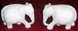 White Marble Elephants