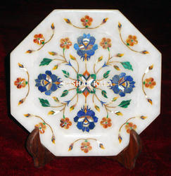 Marble Decorative Handmade Plaque