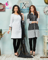 Fancy Cotton Salwar Kameez