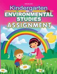 Kindergarten Environmental Studies Assignment Book