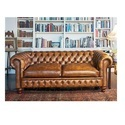 Light Brown Chesterfield Sofa