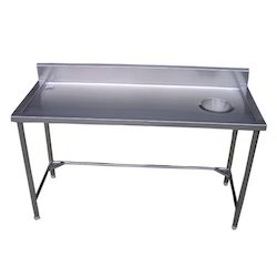 Kitchen Working Table - Dish Landing Table Manufacturer from Chennai