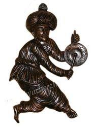 Rajashtani Man - Ringing And Playing Bell