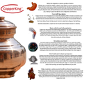 Pure Copper Kalash / Water Pot