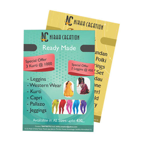 printed pamphlets promotional pamphlet manufacturer from noida