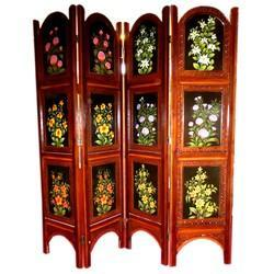Wooden Antique Flower Partition