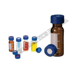 Blue Screw Cap & PTFE Septa  Screw Top Vials (9 mm)