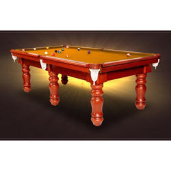 Pool Table in Aeramith Ball Set