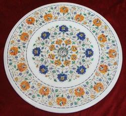 Marble Inlaid Tables Top