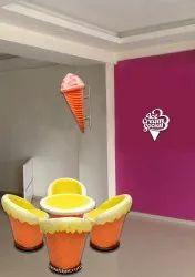 Ice Cream Shaped Chair