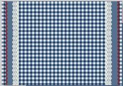 Checked Table Mat