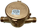 DASMESH 25mm Brass Multi Jet Class B Screwed Water Meter