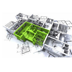AUTO CAD Service - Service Provider from Pune Mongol House Floor Plan Autocad on