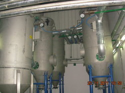 Scrubber for injection moulding machine