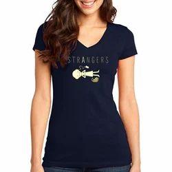 V Necked T - Shirt