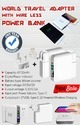 Power Bank With Universal Adopter