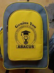Yellow color School backpack