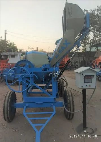 Concrete Mixer Machine and Industrial Trolley Manufacturer | Unity