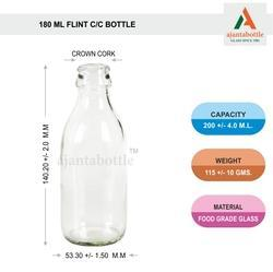 180 Ml Milk Bottle
