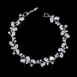 Diamond Charm Bracelet