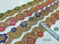 Embroidered Lace E2114