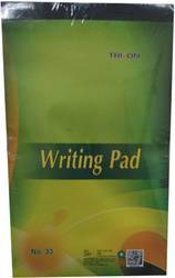 Writing Pad No. 33, 80 Sheets