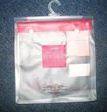 PVC Hanger Bags / PVC Hanger Pouch