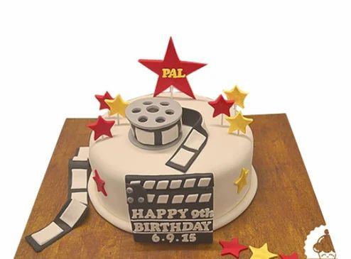 Camera Theme Cakes